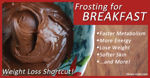 frosting for breakfast