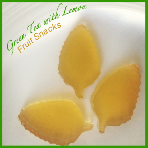 green tea gummies
