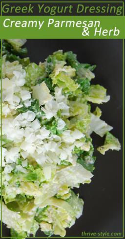 creamy parmesan herb dressing 1