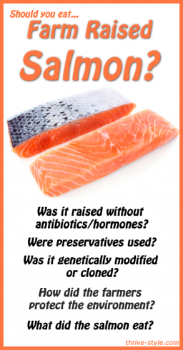 Should you eat farmed salmon 5 questions you should be for Farmed fish vs wild