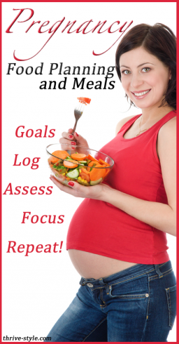 pregnancy food goal setting 2