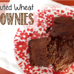 Sprouted Wheat Brownies