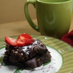Gooey Chocolatey Zucchini Brownies