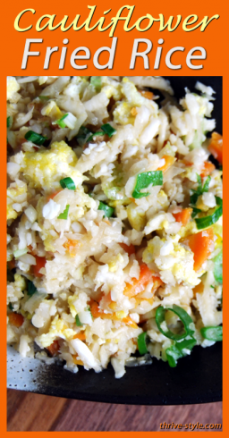 cauliflower fried rice 1