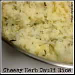 Cheesy Herb Cauli Rice