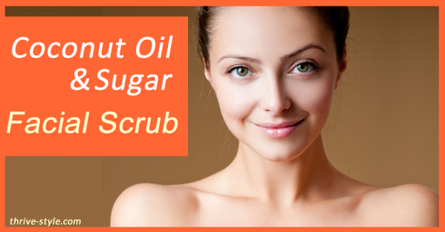 Coconut Oil Face Scrub - How To Make Facial Scrub Using Coconut Oil, Lemon, Sugar