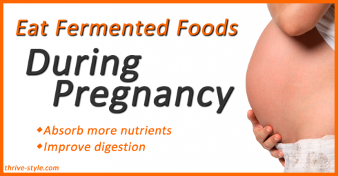 fermented foods during pregnancy