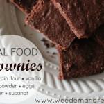 Real Food Brownies