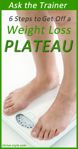 weight loss plateau 1