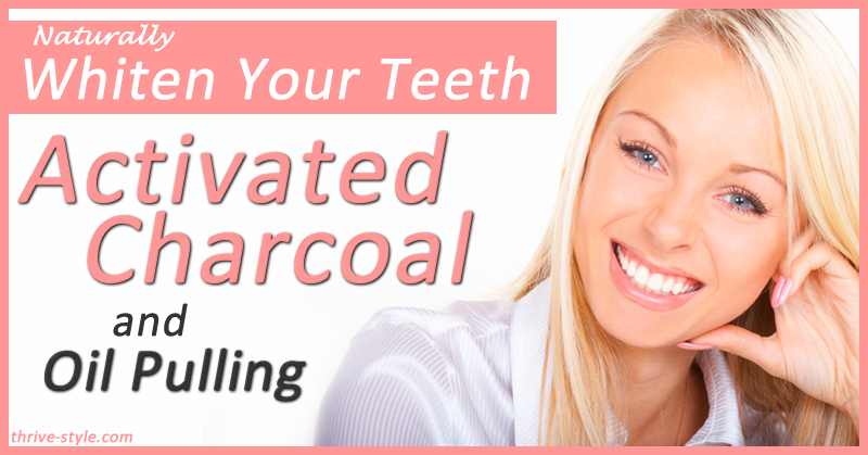 Oil Pulling Plus Bonus Natural Teeth Whitening With Activated