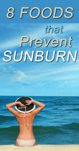 foods that prevent sunburn 1