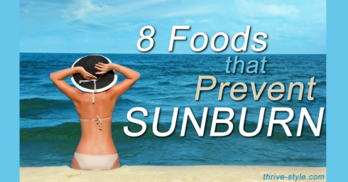 foods that prevent sunburn
